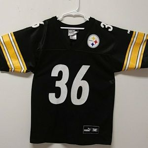 "VINTAGE Jerome ""BUS"" Bettis PUMA Jersey Steelers"